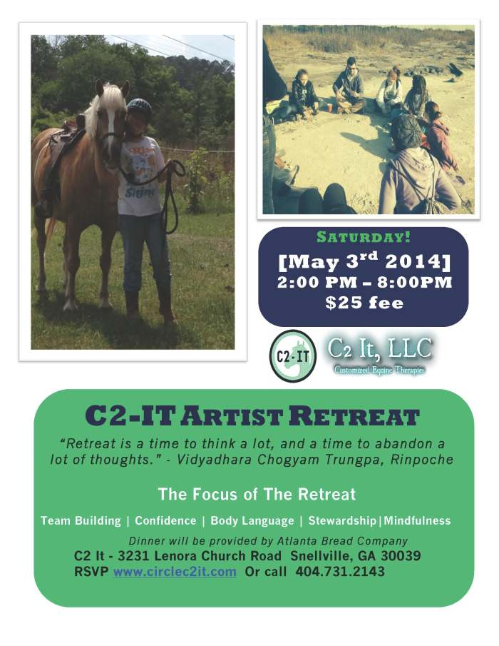 Calling All Atlanta Artists - Artist Retreat May 3rd!